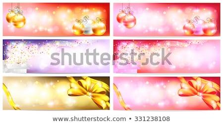 аннотация · красочный · магия · окна · звездой · рождения - Сток-фото © pathakdesigner