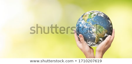 The earth in human hands stock photo © vlad_star
