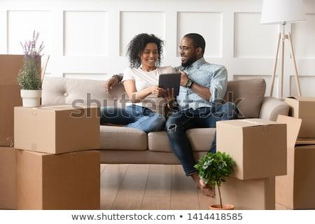 Couple deciding to buy house Stock photo © photography33