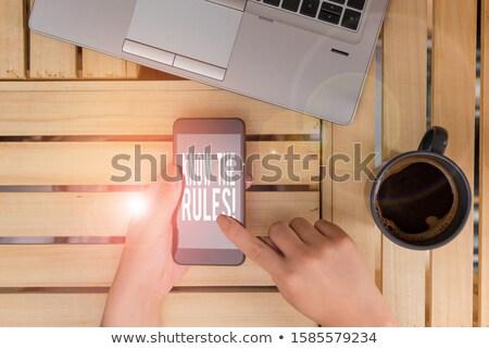 今 · 緑 · ステッカー · ビジネス · インターネット · ウェブ - ストックフォト © nenovbrothers