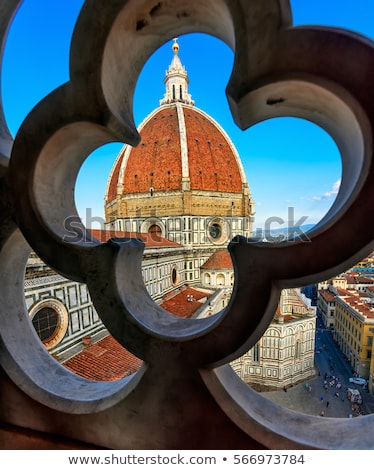 Florence town view Stock photo © ajlber