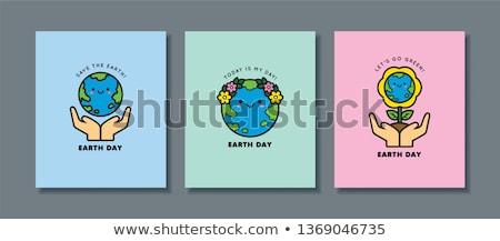 ecológico · ambiental · símbolos · ambiente · casa - foto stock © karolinal