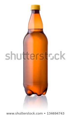 brown plastic bottle with a beer Stock photo © RuslanOmega