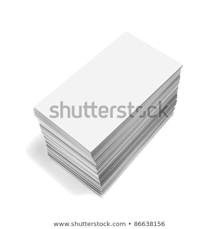 executive with a blank business card stock photo © photography33