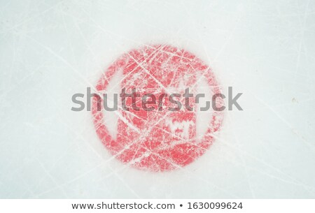 silhouette · rouge · feuille · d'érable · sport · feuille - photo stock © perysty