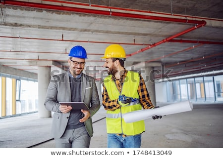 Architect and building inspector Stock photo © photography33