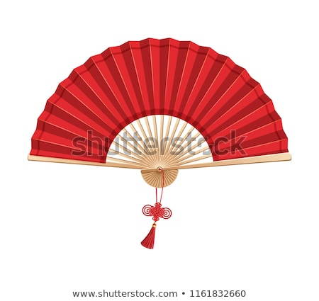Oriental wooden fans background Stock photo © Taiga
