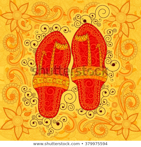 Indian slippers Stock photo © ErickN