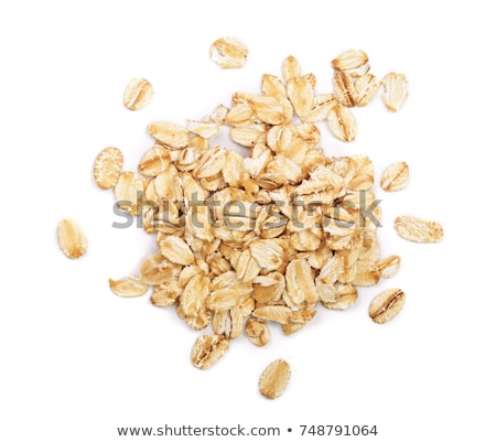 燕麦 健康 スプーン ストックフォト © kornienko