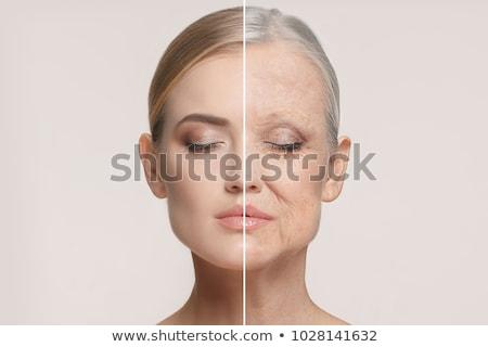 invecchiamento · processo · consapevolezza · umani · uomo · d'affari · faccia - foto d'archivio © lightsource