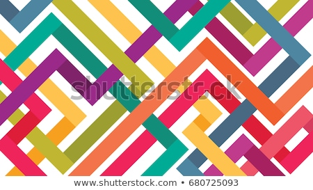 Colorful abstract tubes Stock photo © cla78
