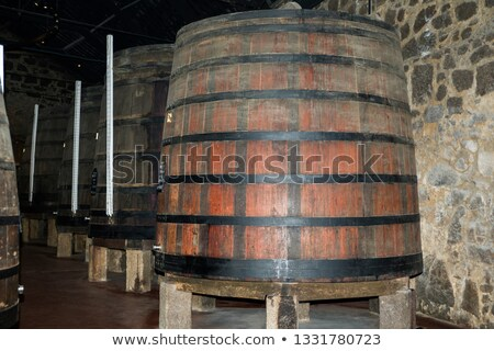 Calem wine cellar in Porto, Portugal Stock photo © dinozzaver