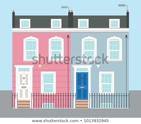 Victorian terraced houses stock photo © Snapshot