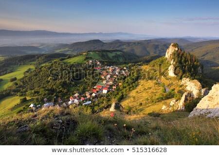 Slovak countryside Stock photo © hraska