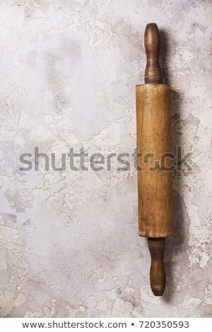 öreg sodrófa konyha főzés szerszám szakács Stock fotó © Zerbor