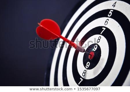 Foto stock: Objetivo · ganador · rendimiento · precisión