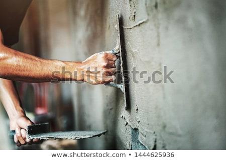 Stock photo: plaster