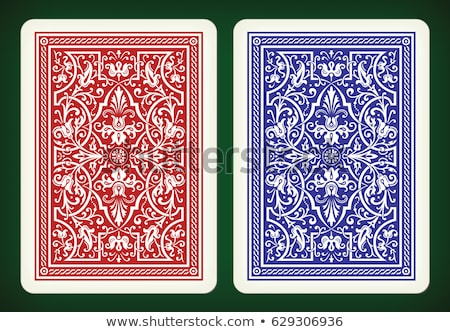 Playing cards back Stock photo © mannaggia