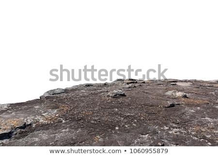 Uçurum kırmızı kaya yeni plaj gökyüzü Stok fotoğraf © vlad_podkhlebnik