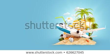 Férias viajar ilustração cidade Foto stock © raphicus