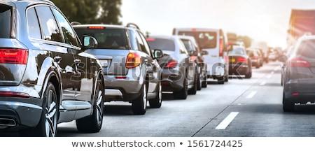 Fények forgalom autó autópálya éjszaka idő Stock fotó © Anterovium