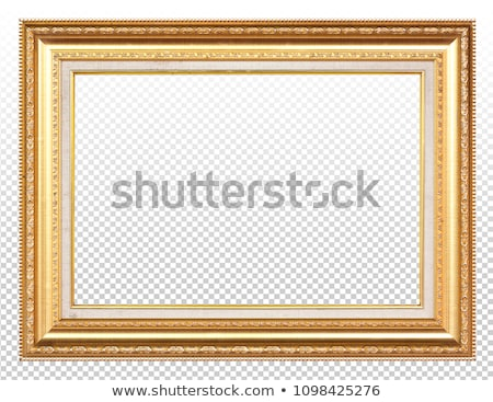 antique gilded frame stock photo © smuki