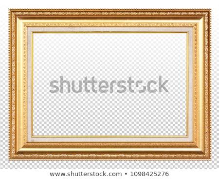 Antique gilded Frame Stock photo © smuki