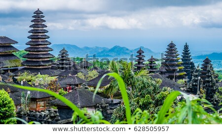 templo · Indonésia · adorar · rezar · arquitetura · dom - foto stock © weltreisendertj