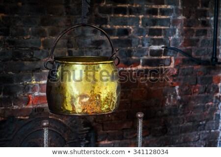 Сток-фото: Brass Pots Antique