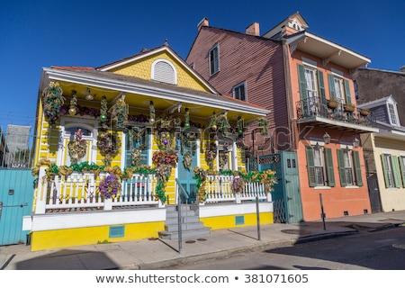 古い · 新しいニューオーリンズ · 住宅 · フランス語 · 四半期 · 歴史的 - ストックフォト © meinzahn