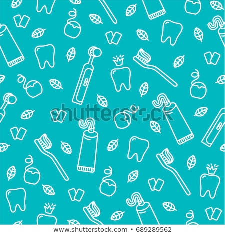 Tooth wallpaper for dentist Stock photo © shawlinmohd