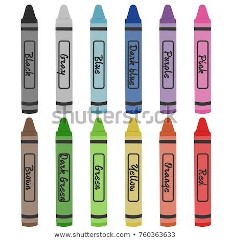 Violet colouring crayon pencil  Stock photo © natika