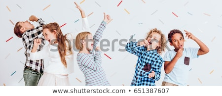 kids having fun stock photo © bigandt