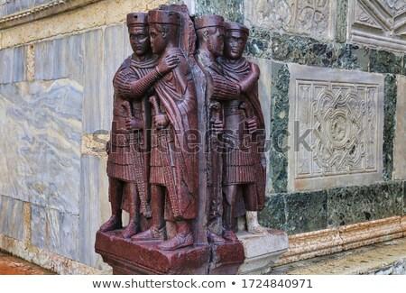 Four Tetrarchs Statue Stock photo © Hofmeester