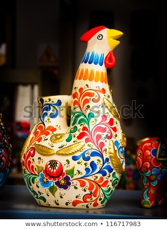 Handicrafts in The Andes of Peru Stock photo © xura