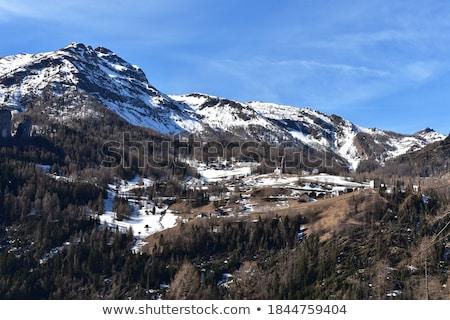 山 · 村 · 表示 · アルメニア · 空 - ストックフォト © antonio-s