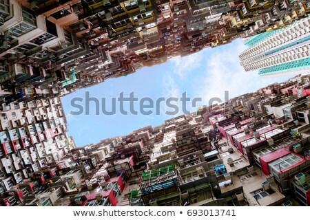 Stock photo: Populated Areas
