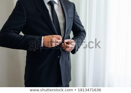 ハンサム 若い男 タキシード ジャケット 画像 ストックフォト © feedough