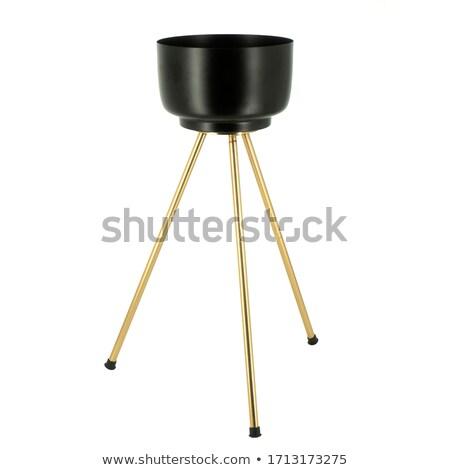 Decorative Metal Pot Stock photo © dezign56