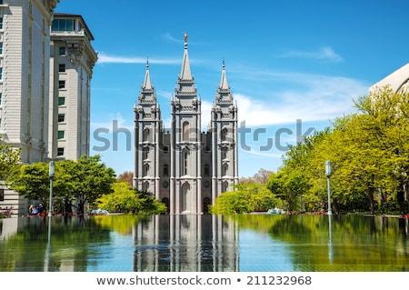 mormons temple in salt lake city ut stock photo © andreykr