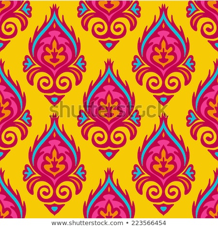 Indian flourish motifs Stock photo © morrmota
