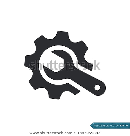vector flat tools icons symbol about maintenance business service concept stock photo © thanawong