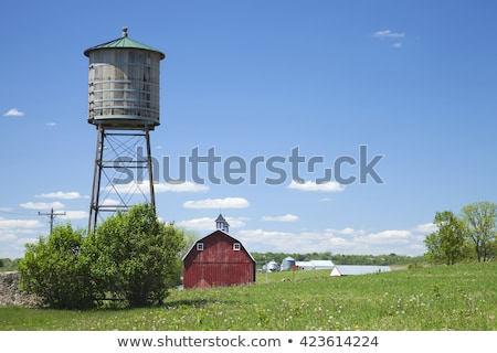 Old-Fashioned Water Tower Stock photo © lorenzodelacosta