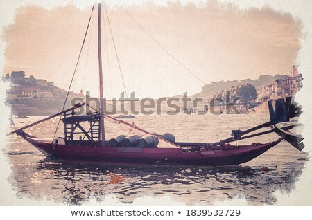 Fishing boat, Portugal Stock photo © joyr