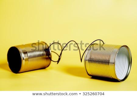 Communication modèle espace de copie internet technologie Photo stock © eltoro69