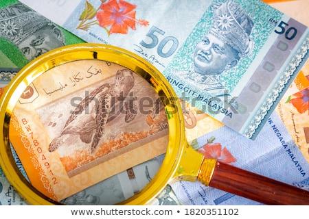 Különböző pénz Malajzia Ázsia érmék üzlet Stock fotó © CaptureLight