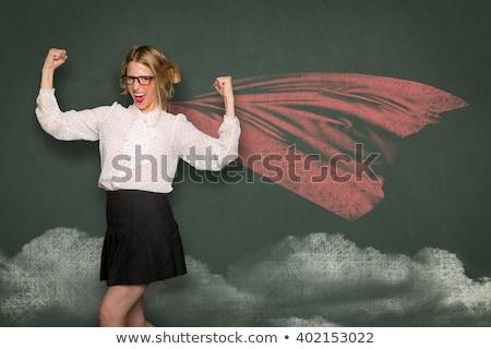 Stupido insegnante geek isolato uomo Foto d'archivio © zittto