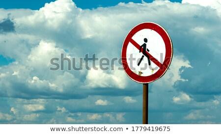 Sexism on Warning Road Sign. Stock photo © tashatuvango