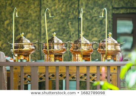 catering wedding with heater with buffet line stock photo © art9858