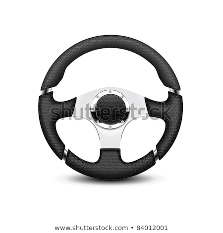 computador · volante · isolado · branco · tecnologia · esportes - foto stock © shutswis